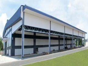 Pre-fabricated warehouse